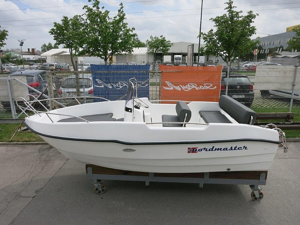 Nordmaster 440 Open + Mercury F25 - ZALOGA2020 for sale: 10780.-EUR