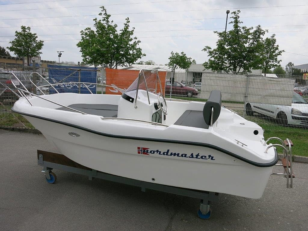 Nordmaster 450 Open + Mercury F50 - ZALOGA2019 for sale: 13440.-EUR